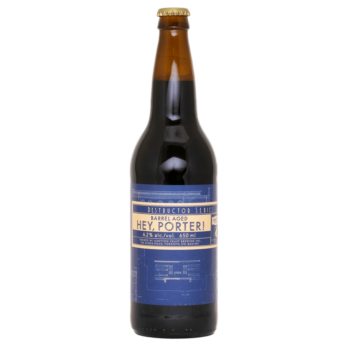 Barrel Aged Hey, Porter! - Barrel Aged Porter