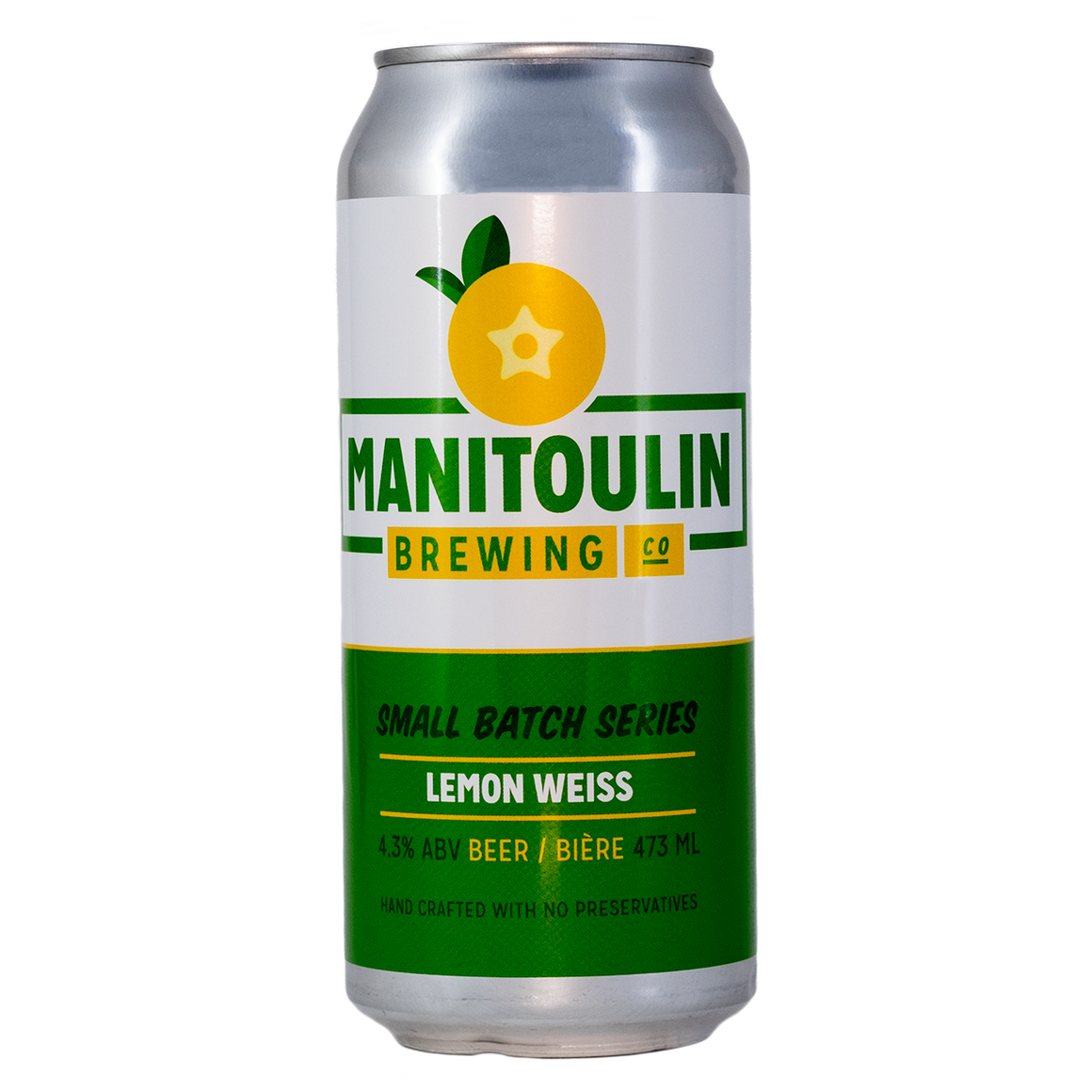 Manitoulin Lemon Weiss - Wheat Beer