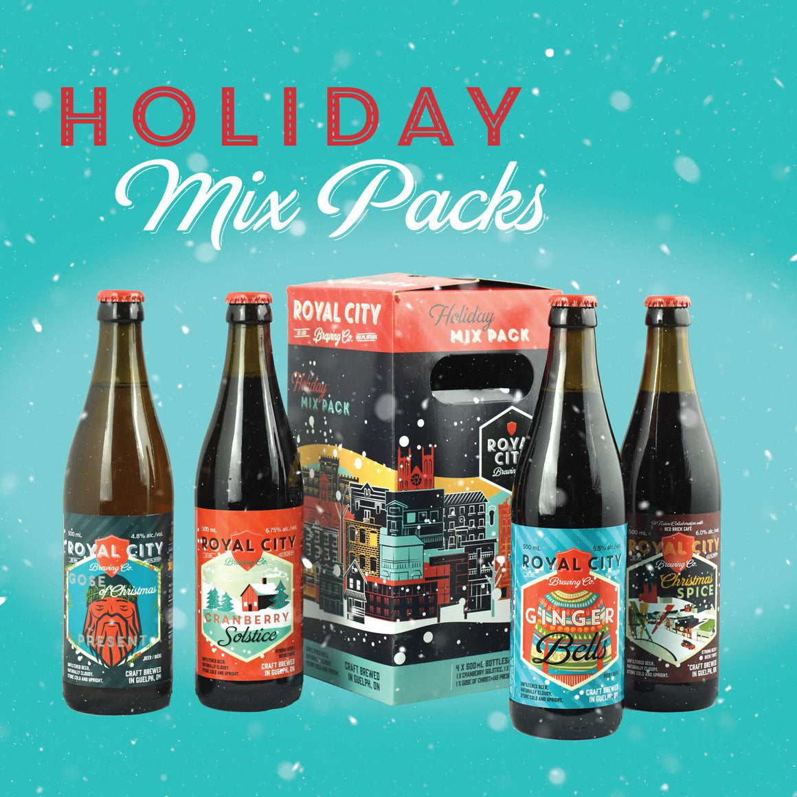 Royal City Holiday Mix Pack
