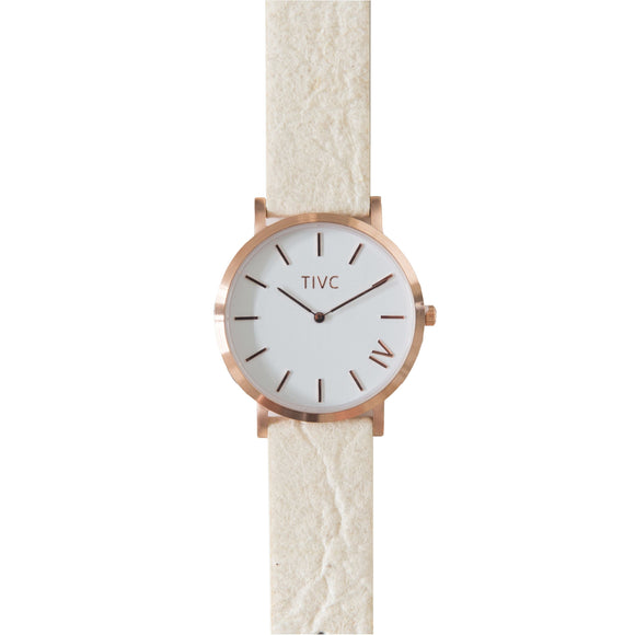 Rose Gold - Pinatex Strap