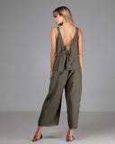 SADIE JUMPSUIT GREEN