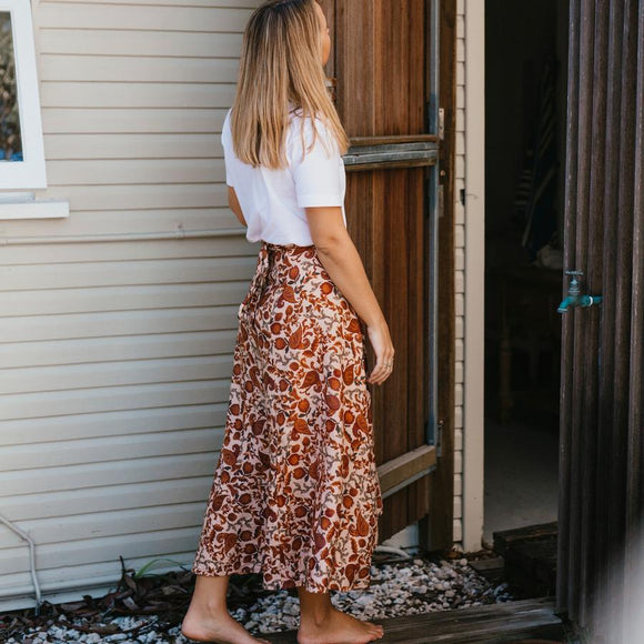 Wilder Wrap Skirt