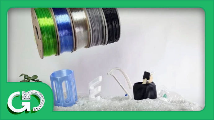 Recycled 3D Printer Filament: The Basics & Best Brands