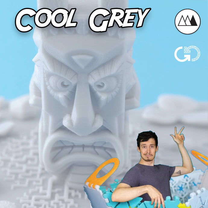 Cool Grey by Devin Montes: Recycled PET-G