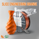 Slice Engineering Orange: Recycled PET-G in Collaboration with GreenGate3D
