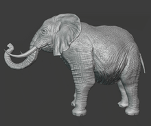 Load image into Gallery viewer, Elephant STL | GreenGate3D & Esteban Devia 3D