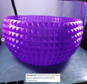 Translucent Purple: Recycled PET-G