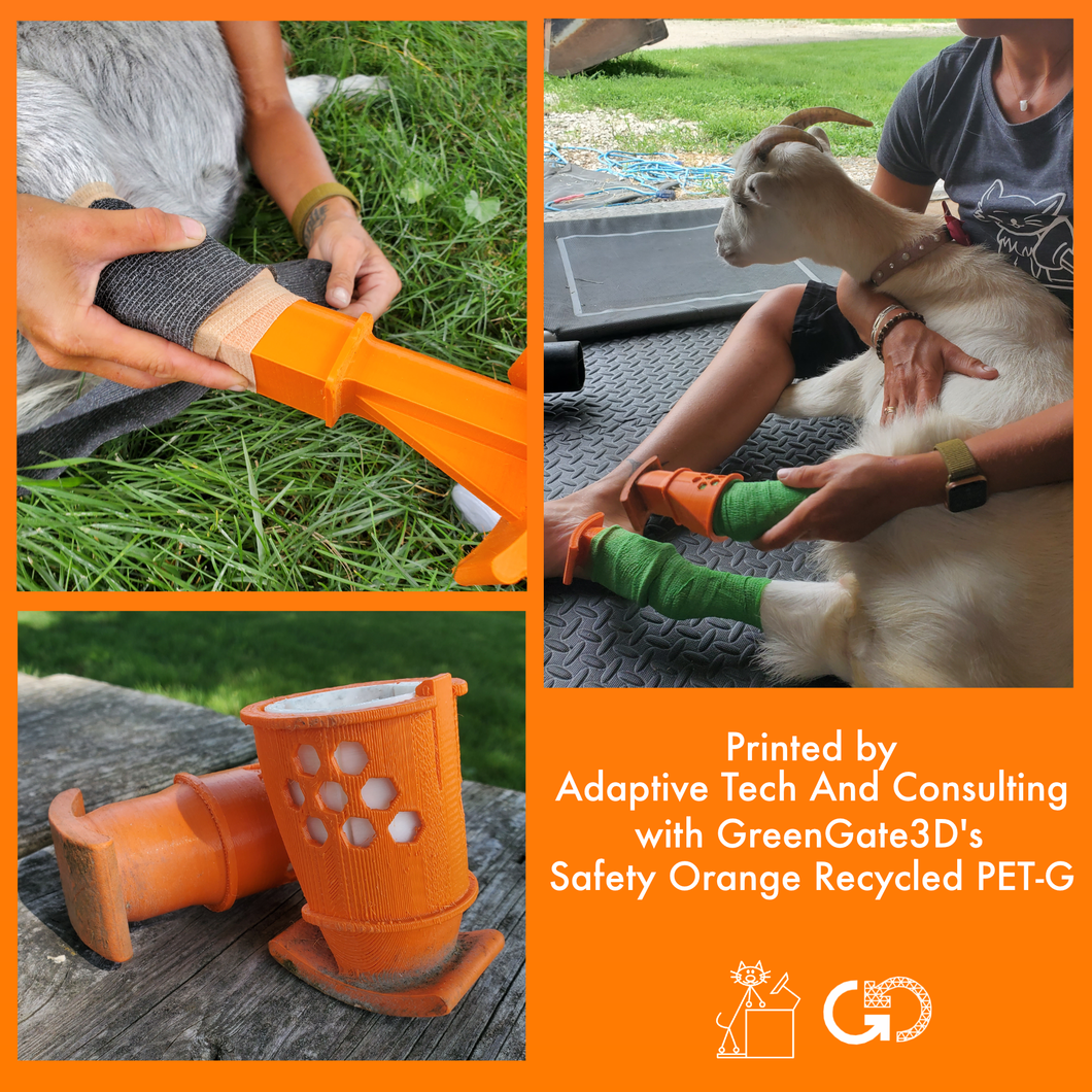 Safety Orange: Recycled PET-G