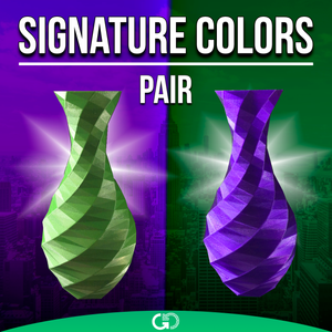 GreenGate3D Signature Colors Pair