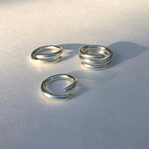 Coil Rings Set of 3