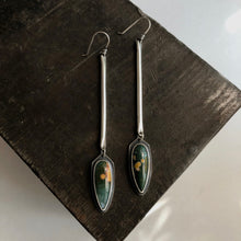 Sticks and Stones Earrings-Ocean Jasper