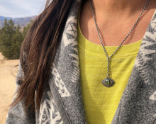 Inner Vision Lariat Necklace Vesuvianite