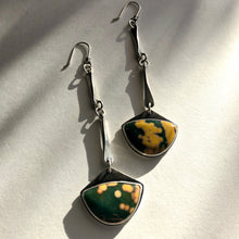 Ocean Jasper Link Earrings