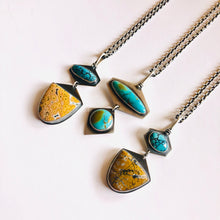Turquoise Token Necklace