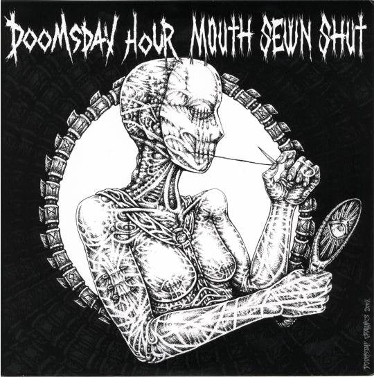 MOUTH SEWN SHUT / DOOMSDAY HOUR split 7