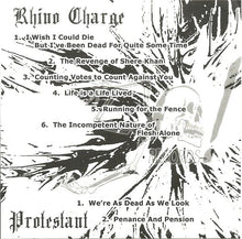 Load image into Gallery viewer, RHINO CHARGE / PROTESTANT split 7""