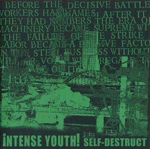 INTENSE YOUTH self destruct 7""