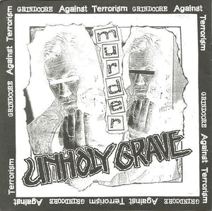 UNHOLY GRAVE / DERANGED INSANE split 7""