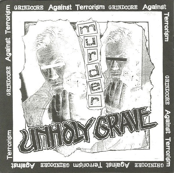 UNHOLY GRAVE / DERANGED INSANE split 7