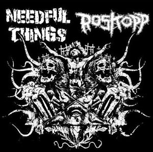 NEEDFUL THINGS / ROSKOPP split 7""
