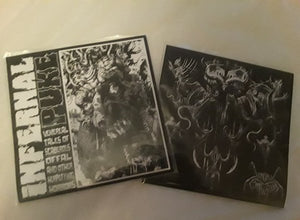 DEMONIC COMPULSION / INFERNAL PUKE split 7""
