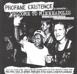 WELCOME TO MINNEAPOLIS compilation 7""