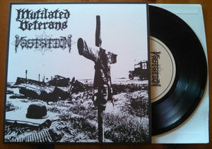 MUTILATED VETERANS / VASTATION split 7""