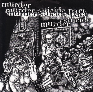 MURDER-SUICIDE PACT self-titled 12""