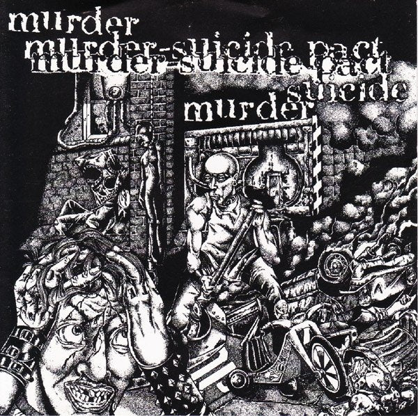 MURDER-SUICIDE PACT self-titled 12