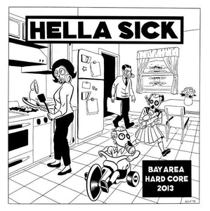 HELLA SICK compilation 7""