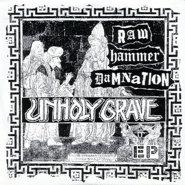 UNHOLY GRAVE / UNBIASED split 7