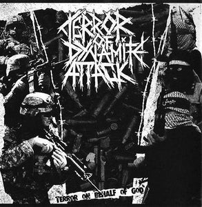 REPULSIONE /TERROR OF DYNAMITE ATTACK split 7""