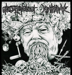 ENDORPHINS LOST / DEATHGRAVE split 7""