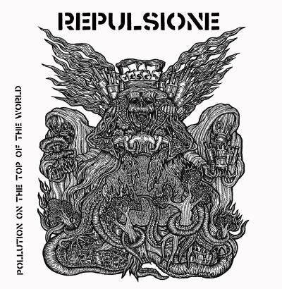 REPULSIONE /TERROR OF DYNAMITE ATTACK split 7
