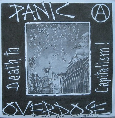 PANIC OVERDOSE death to capitalism CD