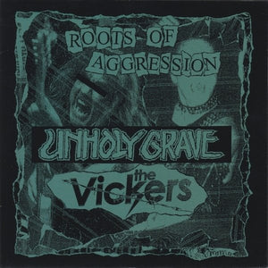 THE VICKERS / UNHOLY GRAVE split 7""