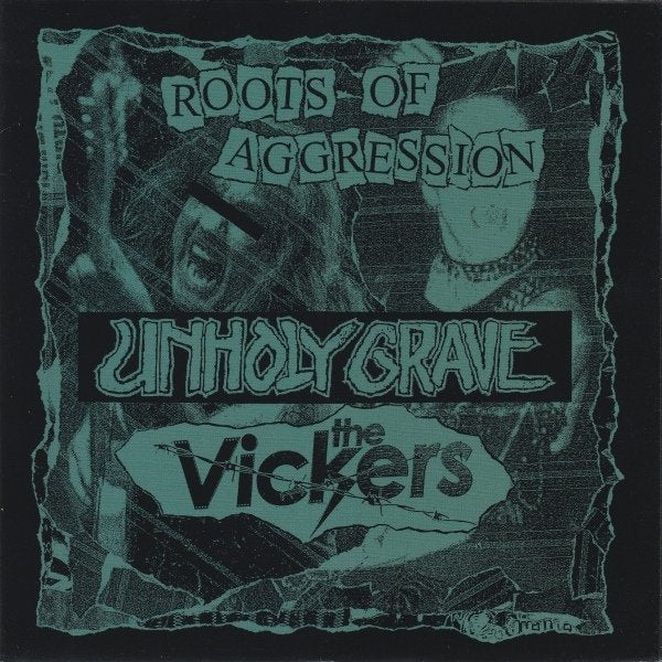 THE VICKERS / UNHOLY GRAVE split 7