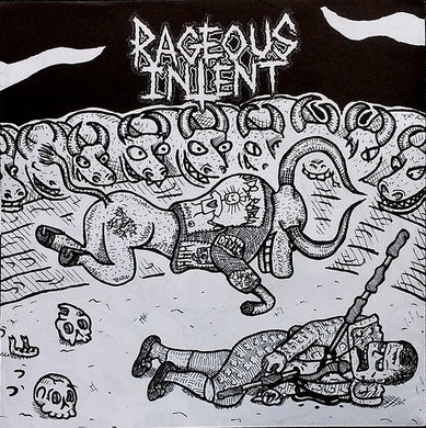 RAGEOUS INTENT / HORSEBASTARD split 7