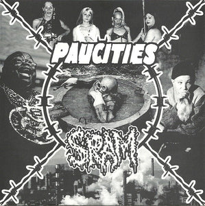 PAUCITIES / SRAM split 7""