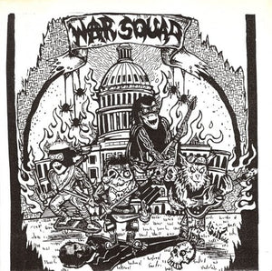 WAR SQUAD self titled 7""
