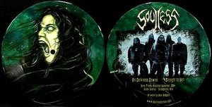 SOULLESS as darkness dawns PIC DISC 7""