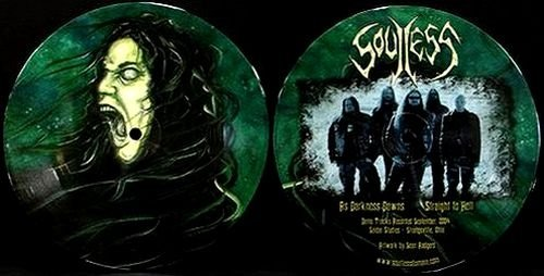 SOULLESS as darkness dawns PIC DISC 7
