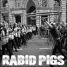 Load image into Gallery viewer, GRIN AND BEAR IT / RABID PIGS split 7""