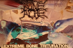 "BONEACHE ""extreme bone trituration"" tape"