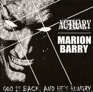 ACTUARY / MARION BARRY split 7""