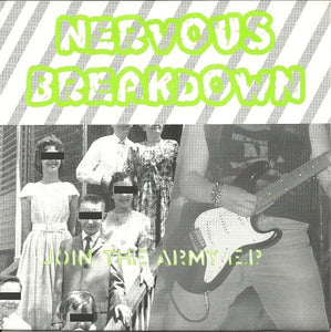 NERVOUS BREAKDOWN join the army 7""