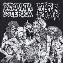 Load image into Gallery viewer, INSOMNIA ISTERICA / TERROR FIRMER split 7""