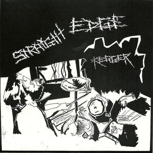 STRAIGHT EDGE KEGGER / SHOALIN FINGER JABB split 7""