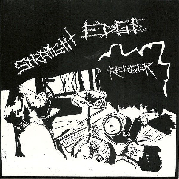 STRAIGHT EDGE KEGGER / SHOALIN FINGER JABB split 7