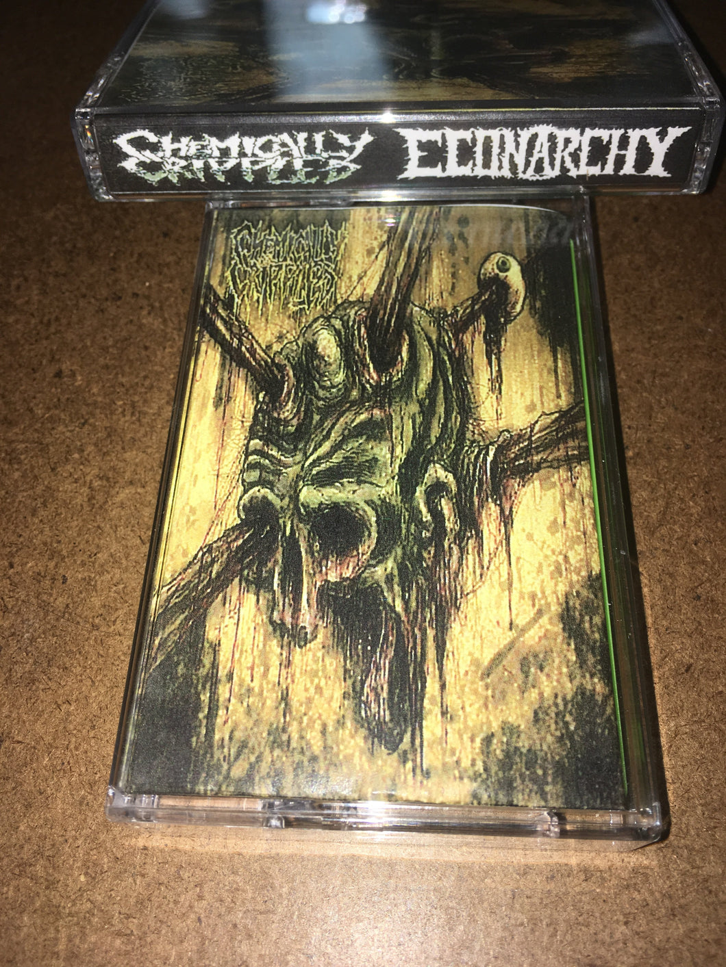 CHEMICALLY CRIPPLED / ECONARCHY split Tape